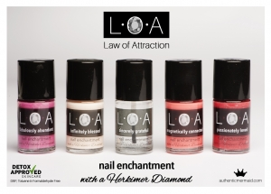 LOA nail varnish